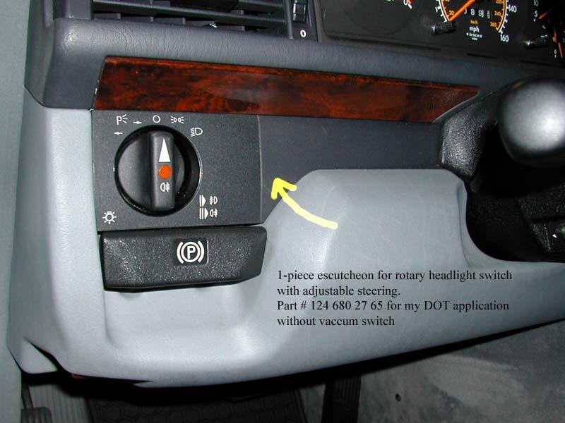 300e Headlight Switch Indicator Bulb