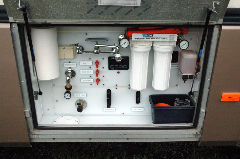 Water Tank Monitoring System : Rv open roads forum travel trailers tank monitoring