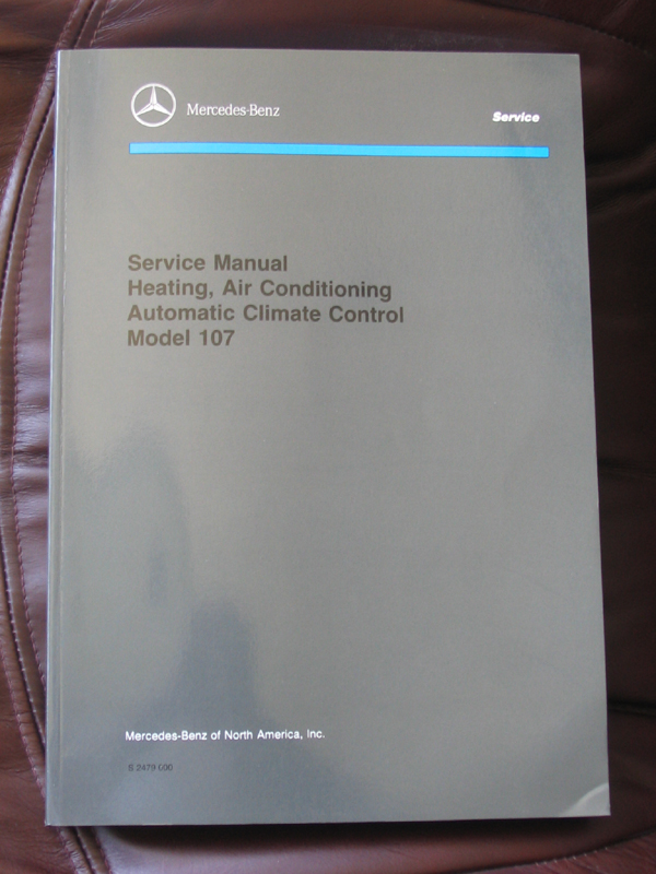 mercedes benz r107 electrical troubleshooting manual rh serenitysys com