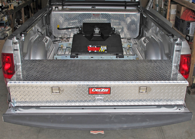 Storage In Front Of Truck Bed With Th Wheel Hitch