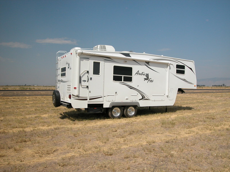 Our 2009 Arctic Fox 24 5n 5th Wh