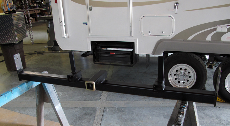 Popular  Solutions For Mounting A Generator To A Trailer Bumper  Camper Report