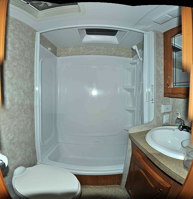 rv net open roads forum travel trailers which shower has