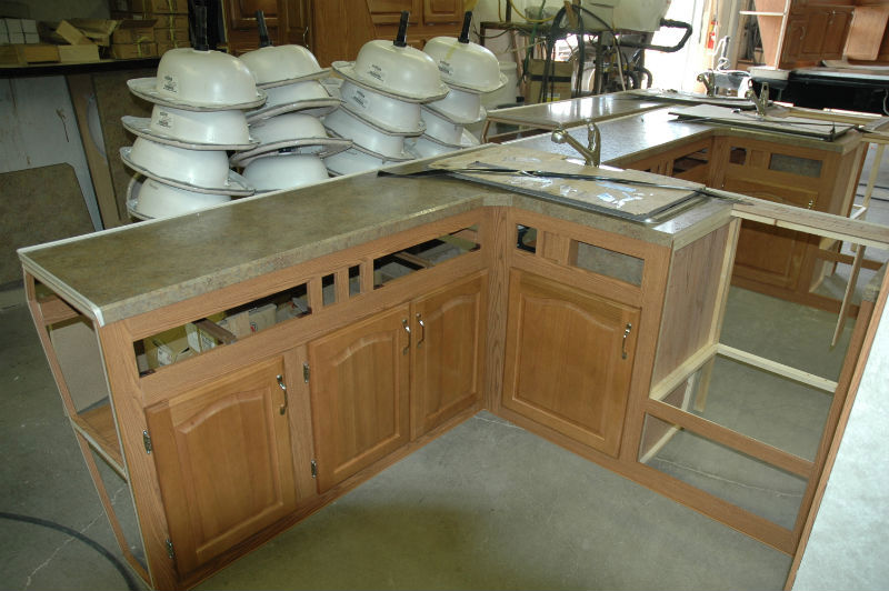 Wonderful  Progress Of Our Painted RV Kitchen Cabinets MountainModernLifecom